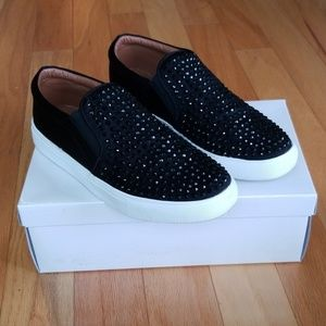 Report Rhinestone Amber Shoes